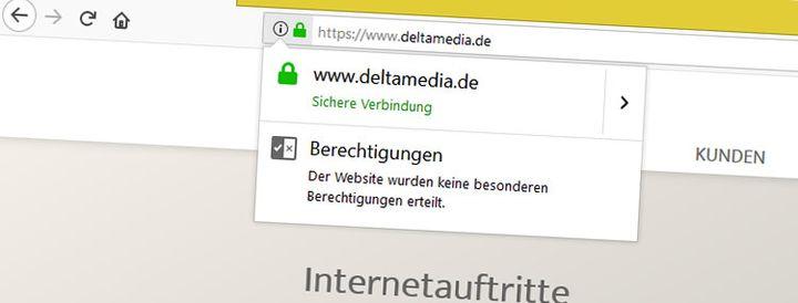 Wie stelle ich meine Webseite auf https um? | Delta Media