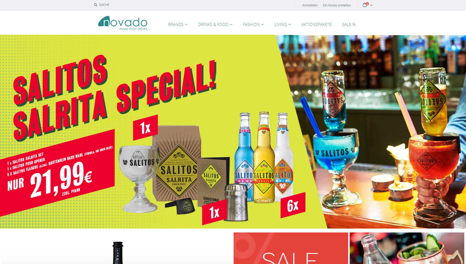 Magento 2 für den novado Online-Shop | Delta Media